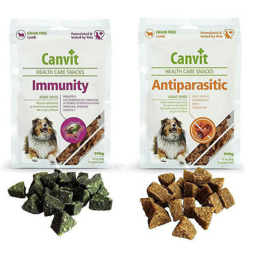 Dog Snacks with Vitamins for Immunity and Digestion Lamb 400g 2pack