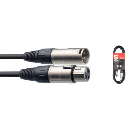 Stagg SMC15 15m/50ft XLR to XLR Microphone Cable