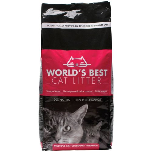 Worlds Best Multiple Cat Litter Clumping Formula 6.35kg