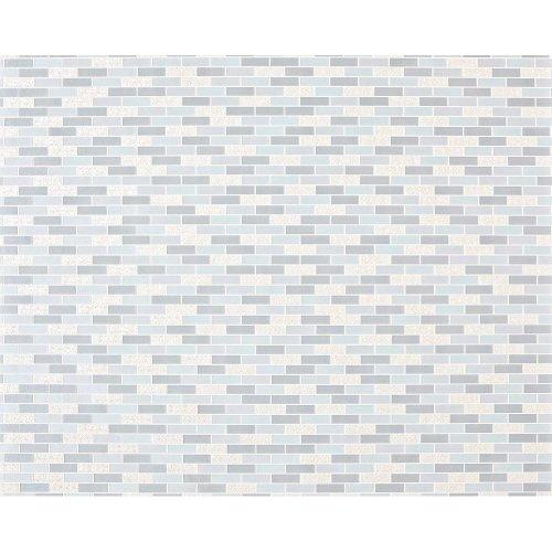EDEM 991-39 non-woven mosaic wallpaper XXL blue grey silver metallic 10.65 sqm