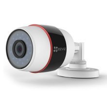 EZVIZ PoE 1080P C3S (POE) Outdoor Bullet Camera, 4mm Lens, 30m Night Vision, IP66, Micro SD/Cloud Storage