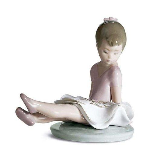 Lladro Rosy Posey Porcelain Figure