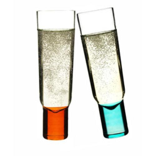 Sagaform Club Design Champagne Glasses, Set of 2