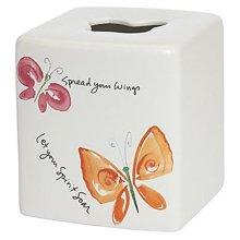 Kathy Davis FLU58MULT Flutterby Tissue Box Cover