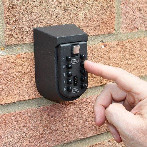 Push Button Wall Mounted Key Safe