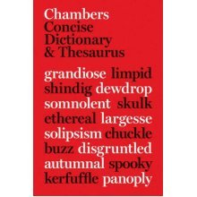 Chambers Concise Dic & Thesaurus (Dictionary/Thesaurus)