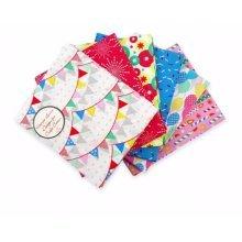 Fat Quarter Bundle - 100% Cotton - Celebrations - Pack of 6