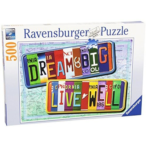 Ravensburger A License to Life 500 Piece Jigsaw Puzzle for Adults Every Piece is Unique Softclick Technology Means Pieces Fit Together Perfectly