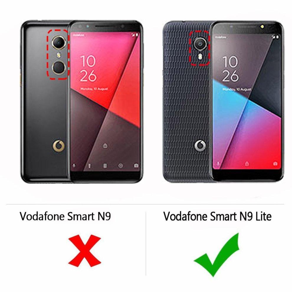 Vodafone Smart N9 lite Case, AVIDET Shock-Absorption, Anti