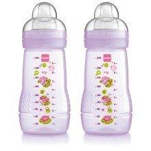 Mam Baby Bottle 270ml - 2pk - Girl