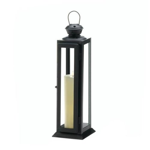 Gallery of Lighting 10018088 Tall Sleek & Lean Star Cutout Candle Lantern