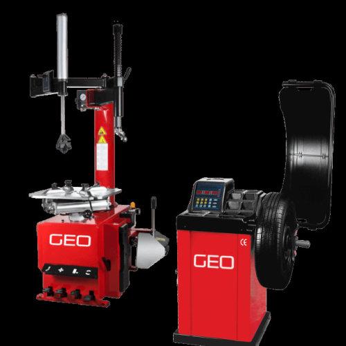 Semi Auto Tyre Machine and Wheel Balancer Package Plus