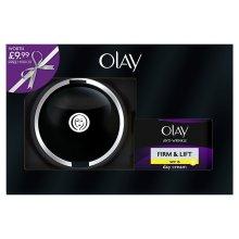 Olay SPF15 Anti-Wrinkle Firm & Lift Moisturiser Day Cream 50ml + Mirror Gift Set
