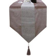 Luxury Table Runner Modern Home Decor Bed Runner With Rhinestone, 13 By 71 Inch