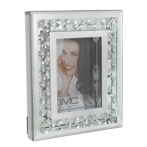 Diamonds of Mayfair 5in x 7in Mirror Photo Frame
