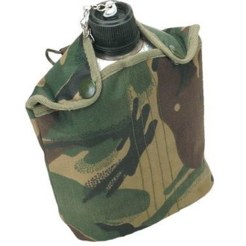 Aluminium Military Water Bottle Canteen With Covers Cases
