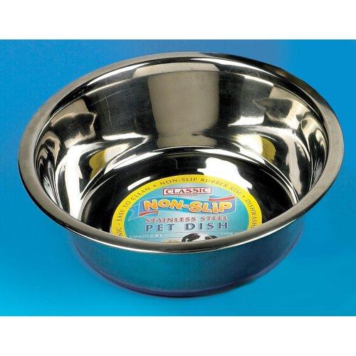 Classic Super Prem S/steel Non Slip Dish 2500ml (250mmdia) (Pack of 6)