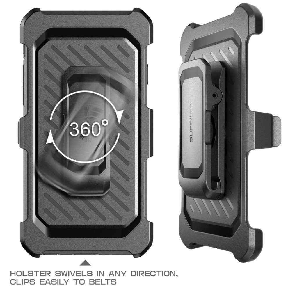 official photos cac18 6e0f3 SUPCASE iPhone SE Case, Full-body Rugged Holster Case with Built-in Screen  Protector for Apple iPhone SE (2016 Release/Compatible with iPhone...