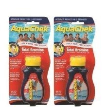 2x AquaChek 4 in 1 Test Strips - Swimming Pool and Spa Test Strips - Red