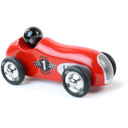 Vilac 20 x 9 x 10 cm Trophy Old Sport Car (Red)