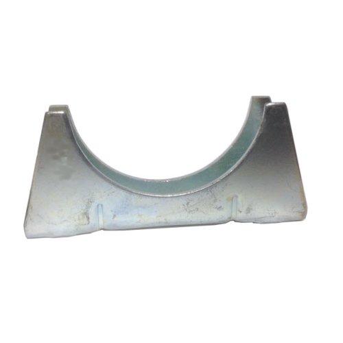 Universal Exhaust pipe cradle 32 mm pipe - Zinc Plated Mild Steel