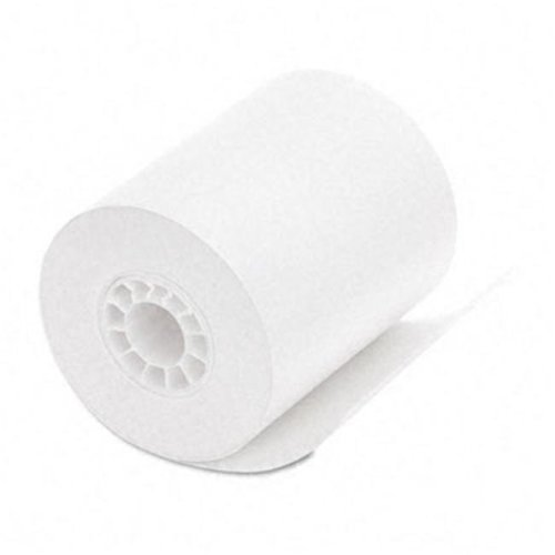 "PM Company 06370 Med/Lab Thermal Printer Rolls- 2-1/4"" x 80 ft- White- 12/Pack"