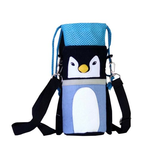 Insulated Baby/Kids Bottle Tote Bag Portable Fashion Feeding Bottle Bag Penguin