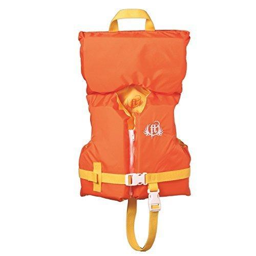 Full Throttle Infant/Child Nylon Vest (Orange, Less then 50-Pound)