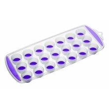 Purple Colourworks Flexible Pop Out 21 Hole Ice Cube Tray - Kitchen Craft -  ice cube tray purple pop out kitchen craft colourworks