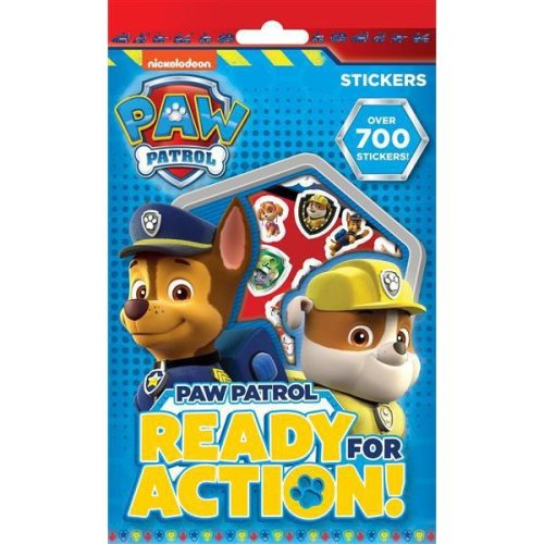 Paw Patrol 700 Assorted Stickers Childrens Party Bag Stocking Filler Gift