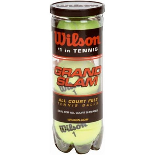 Wilson Tennis Balls WRT1043 Grand Slam Heavy Duty Tennis Balls - 3 Pack