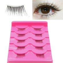 5 Pairs Natural False Eyelashes 3D Eye Lashes Long Makeup Beauty Tools