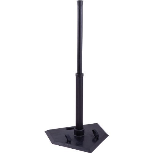 Champion Sports Portable Batting Tees (Black, 1 Position)