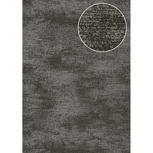 Atlas SIG-587-2 Tone on tone wallcovering shimmering anthracite grey 5.33 sqm