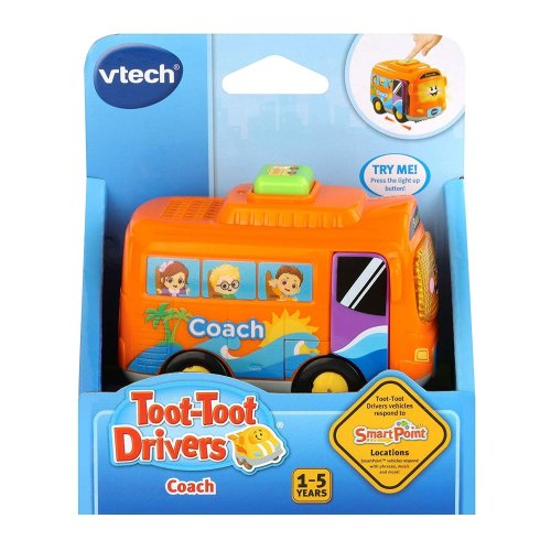Vtech Toot-Toot Drivers Coach  With 3 Songs and 6 Melodies Preschool Toy Ages 1- 5 Years