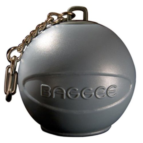Baggee Plastic Bag Holder Keyring - Grey