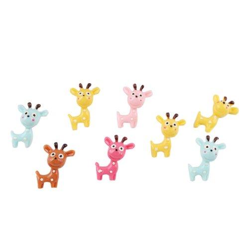 Creative Office Item/Lovely Giraffe Series Pushpins/10 Piece/Random Color