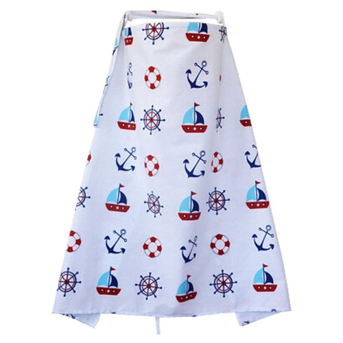 Unisex Baby Breast Feeding Nursing Cover Nursing Apron Baby Shower Gift, H