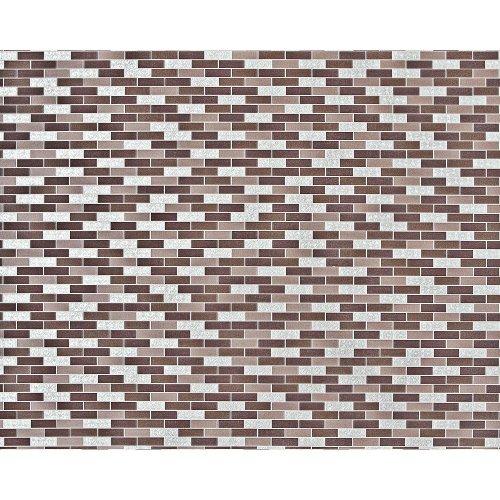 EDEM 991-36 non-woven mosaic wallpaper XXL brown taupe silver metallic 10.65 m2