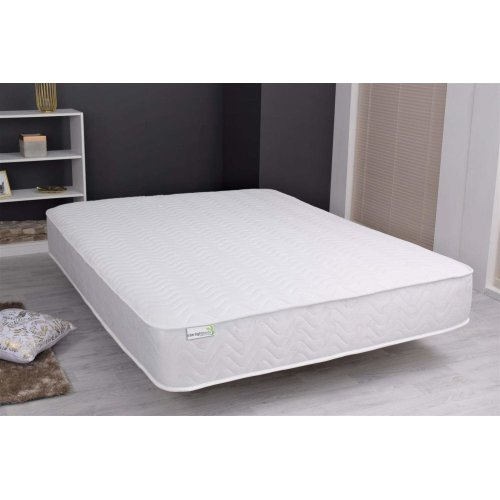 Starlight Beds SB-1432 Cool Blue Memory Foam Sprung mattress. Cooling Spring Mattress