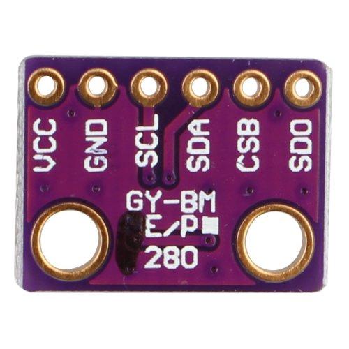 HALJIA GY-BME280-3 3 High Precision I2C SPI Breakout Barometric Pressure  Temperature Humidity Digital Sensor Module Board for Arduino Raspberry Pi