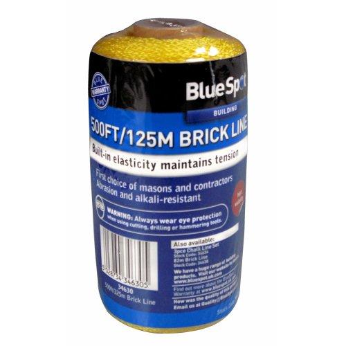 500ft Abrasion & Alkali-resistant Brick Line -  line 500ft brick blue spot 34630
