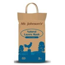Mr Johnson's Natural Layer Mash, 5kg