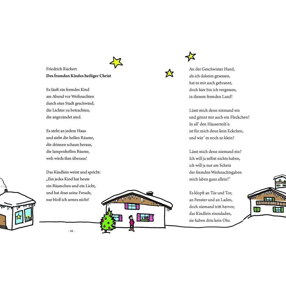 Storm Weihnachtsgedichte.Das Große Kleine Buch Weihnachtsgedichte Für Kinder