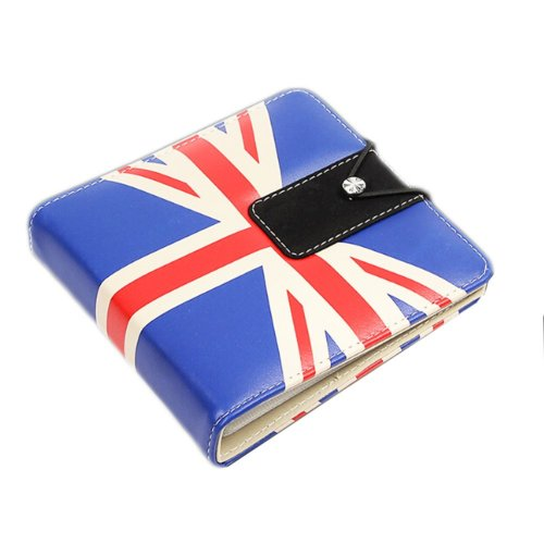 Cute And Textured CD Storage Box CD Holder/Package-Union Jack 2
