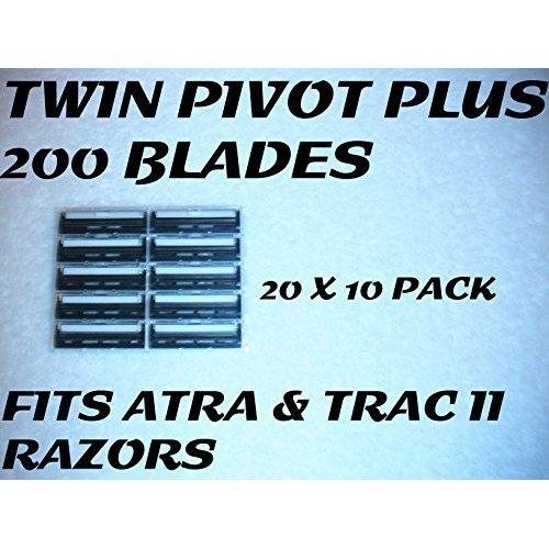 Personna Twin Pivot Plus  200 Blades (20 x 10 Bulk Pack)