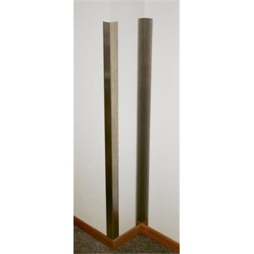 Prairie View CPOS2272SS Outside Stainless Steel Corner Guards, 72 x 2 x 2 in.
