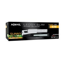 Aquael Leddy Slim Sunny LED Aquarium Lighting 5w (20-30)