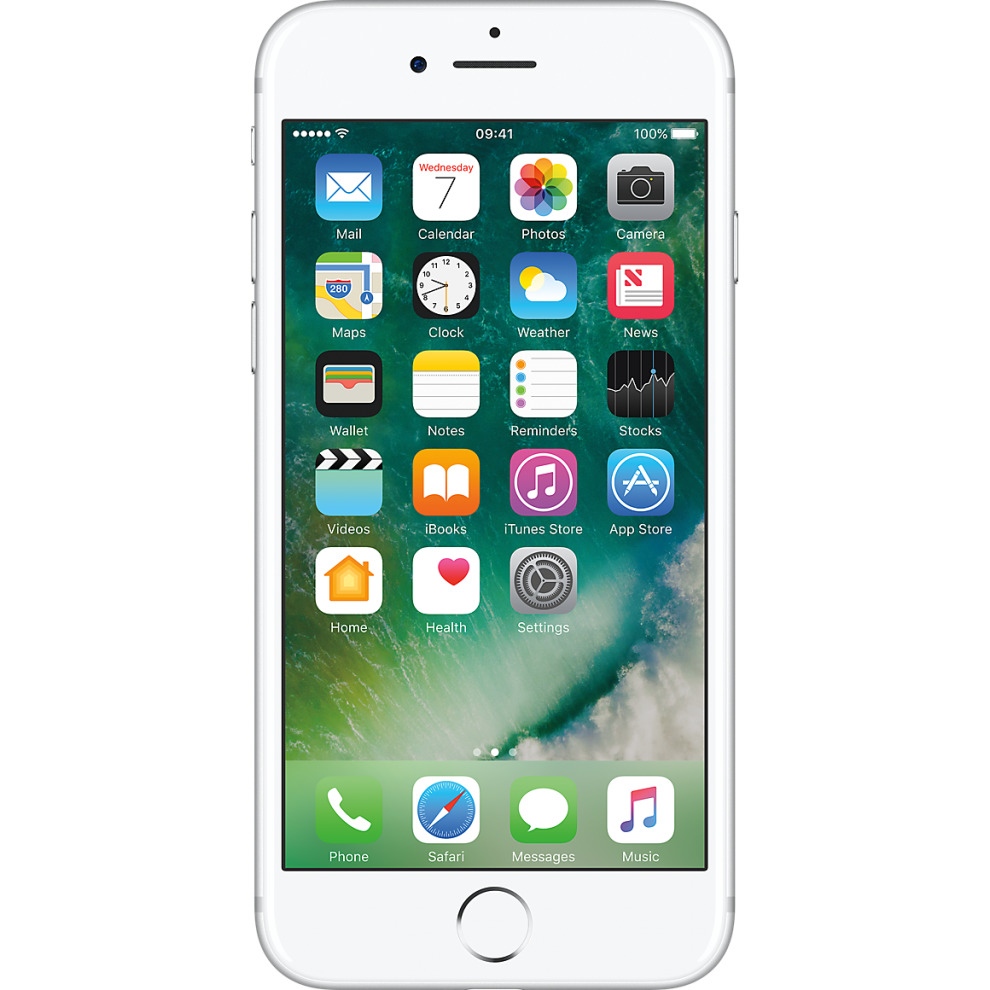 EE, 32GB Apple iPhone 7 - Silver