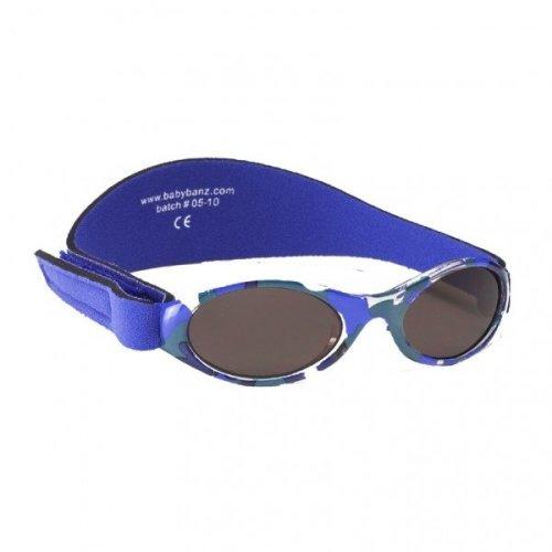 Baby Banz 0-2 Uv Sunglasses €? Adventurer, Blue Camouflage